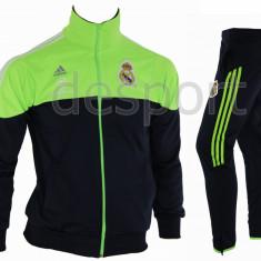 Trening REAL MADRID - Bluza si pantaloni conici - Modele noi - Pret Special 1199 - Trening barbati, Marime: S, M, L, XL, XXL, Culoare: Din imagine