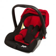 Cos auto Baby Boo Rosu-Negru - Juju - Scaun auto copii