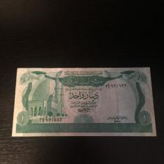 Libia 1 Dinar din 1981 - VG - bancnota africa