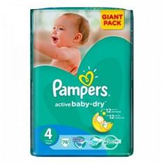 PAMPERS NEW GIANT PACK NR4 7-14KG 76BUC - Scutece unica folosinta copii