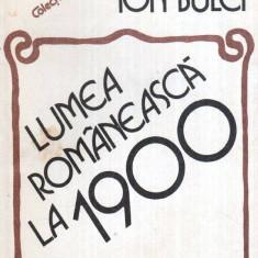 Lumea romaneasca la 1900 - Autor(i): Ion Bulei - Istorie