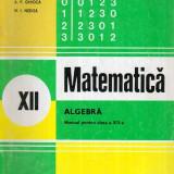 Matematica - Algebra - Manual pentru clasa a XII-a - Autor(i): Ion - Carte Matematica