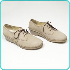 DE FIRMA → Pantofi dama, din piele, comozi, usori, fiabili, ARA → femei | nr. 40 - Pantof dama Ara, Culoare: Bej, Piele naturala, Cu talpa joasa