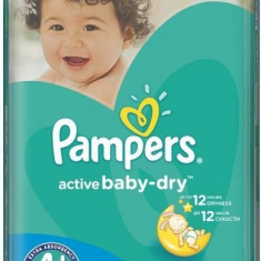 PAMPERS NEW GIANT PACK NR4+ 9-16KG 70BUC - Scutece unica folosinta copii
