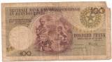 Belgian Congo Ruanda-Urundi 100 Francs 1959 U