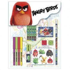 Set de 16 piese papetarie Angry Birds