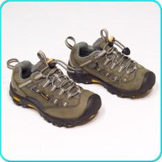 DE FIRMA → Pantofi sport, piele, comozi aerisiti, practici KEEN → baieti | nr 28 - Pantofi copii Keen, Culoare: Din imagine, Piele naturala
