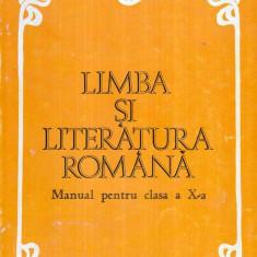 Limba si literatura romana - Manual pentru clasa a X- a - - Culegere Romana