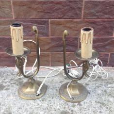 Set-Lampa din bronz/alama !!!