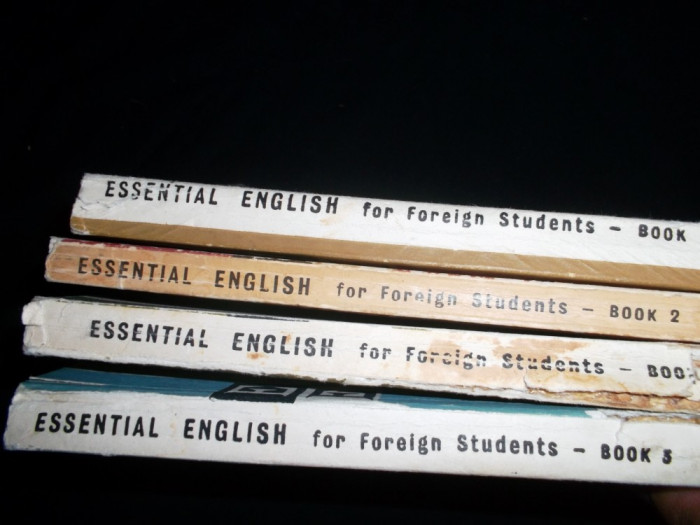 Essential English For Foreign Students (4 Vol)- Eckersley