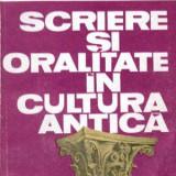 Scriere si oralitate in cultura antica - Autor(i): Andrei Cornea - Istorie