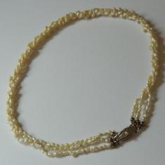 Colier vechi - PERLE si ARGINT 835 - Colier perle
