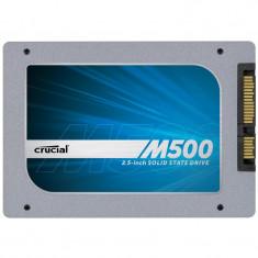 + SSD gaming Crucial M500 240GB SATA-III 2.5 inch CT240M500SSD1 560 zile 100%, SATA 3