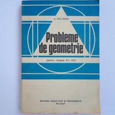 PROBLEME DE GEOMETRIE pentru clasele VI-VII -A.Hollinger - Carte Matematica