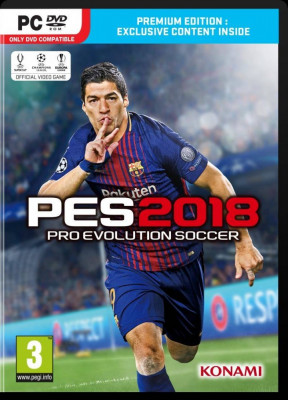 Joc PC Konami PRO EVOLUTION SOCCER 2018 PREMIUM EDITION foto