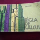 I. IRIMESCU - RIGLA DE CALCUL - Carte Matematica