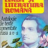 Limba si literatura romana - Antologie de texte comentate - Manual Clasa - Biografie