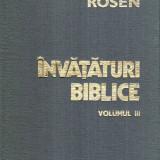 Invataturi biblice vol. III - Autor(i): Moses Rosen - Carti Crestinism
