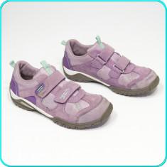DE FIRMA → Pantofi sport, aerisiti-usori-practici, piele, SUPERFIT → fete nr. 38 - Pantofi copii, Culoare: Mov, Piele intoarsa
