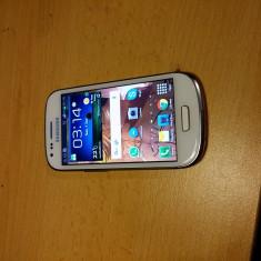 Smartphone Samsung Galaxy S3 mini alb nu a fost codat in retea - Telefon mobil Samsung Galaxy S3 Mini, 8GB, Neblocat