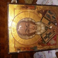 Icoană ruseasca - Icoana cu foita de aur