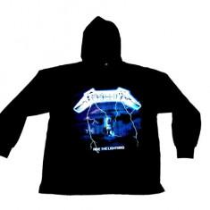 Hanorac Metallica - ride the lightning - Hanorac barbati, Marime: S, M