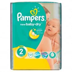 PAMPERS SMALL ACTIVE NR.2 MINI 3-6 KG 17BUC - Scutece unica folosinta copii