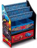 Organizator carti si jucarii cu cadru din lemn Disney Cars, Delta Children