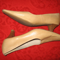 Pantofi piele naturala Bata Mar 40 - Pantof dama Bata, Culoare: Din imagine, Cu toc