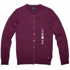 Bluza Cardigan TOMMY HILFIGER - Bluze Dama, Femei - 100% AUTENTIC - Pulover dama Tommy Hilfiger, Marime: XS, Culoare: Mov, Bumbac