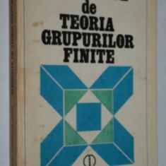 Elemente de teoria grupurilor finite - Dorin Popescu - Constantin Vraciu - Carte Matematica