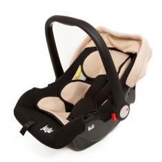 Cos auto Baby Boo Bej-Negru - Juju - Scaun auto copii