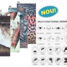 Multifunctional Headwear ( Bandana multifunctionala diverse modele ), L, Barbati, Caciula pescar, Baracuda