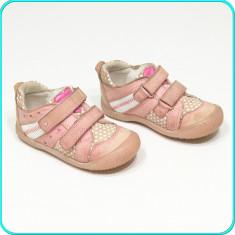 DE FIRMA → Pantofi din piele, usori, comozi, practici, LASOCKI → fetite | nr. 23 - Pantofi copii, Culoare: Roz, Fete, Piele naturala