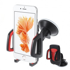 Suport auto Samsung pentru telefoane 40-95 mm - rosu