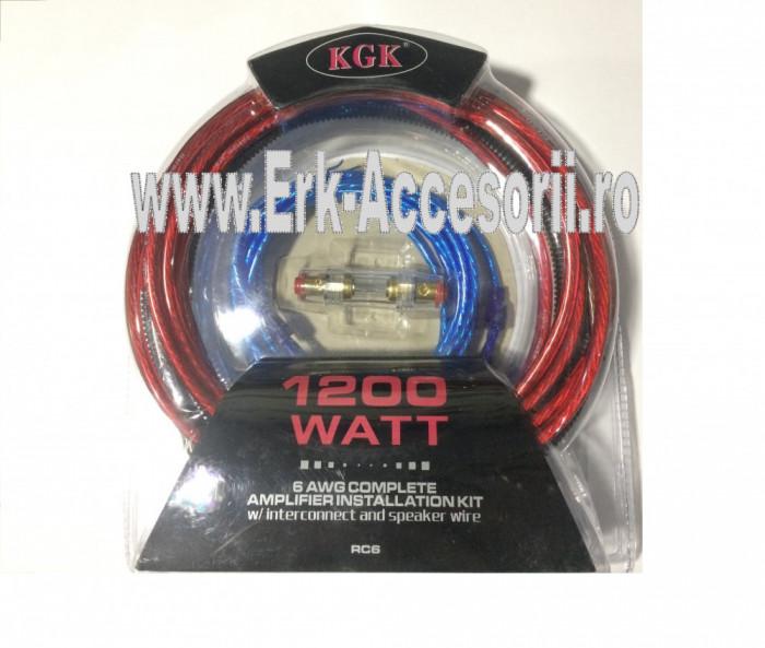 KIT  cablu + sigurante pentru subwoofer RAA 1200 AL-TCT-1957