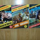 3 BENZI DESENATE ROMANESTI COLECTIA STADION - Reviste benzi desenate