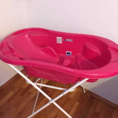 Cădiță de baie și saltea de înfășat - Masuta/scaun copii Altele