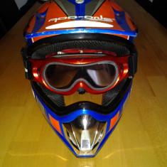 Casca Moto Copii Add Orje Motor (mar.51-52 cm), Marime: Nespecificat
