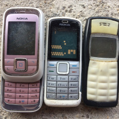 Lot 3 telefoane NOKIA - 16 lei toate, Li-ion