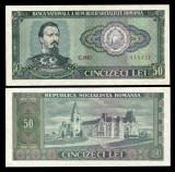 BANCNOTA 50 LEI 1966 UNC NECIRCULATA
