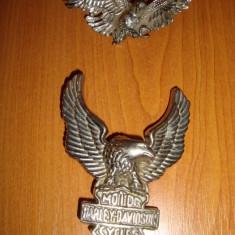 CATARAMA HARLEY DAVIDSON + INSEMN CASCHETA GERMANIA WW II