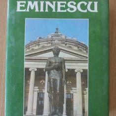EMINESCU- UN VEAC DE NEMURIRE, VOLUMUL II- cartonata, supracoperta - Carte Antologie