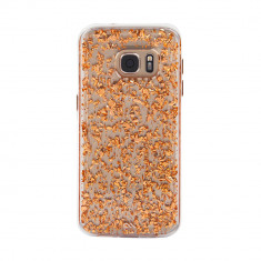Husa Fashion dual layer Case-Mate Karat pentru Samsung Galaxy S7, Rose Gold - Masa de calcat