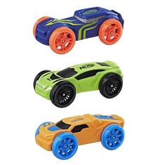 Set Masinute Nerf Nitro Foam Car 3 Pack - Pistol de jucarie