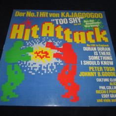 Various - Hit Attack _ vinyl, LP, compilatie _ EMI (Germania) - Muzica Dance emi records, VINIL
