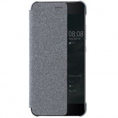 Husa originala Huawei View Cover pentru P10, Light Grey