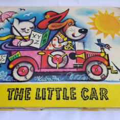 Carte pt copii, in limba engleza The Little Car 1982 Artia Praga Cehoslovacia - Carte de povesti