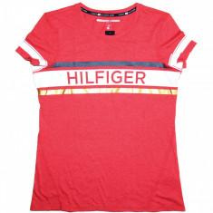 Tricou TOMMY HILFIGER Sport - Tricouri Dama, Femei - 100% AUTENTIC - Tricou dama Tommy Hilfiger, Marime: S, Culoare: Din imagine, Simplu, Maneca scurta, Casual