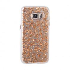 Husa Fashion dual layer Case-Mate Karat pentru Samsung Galaxy S7 Edge, Rose Gold - Masa de calcat